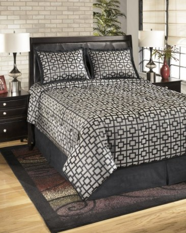 Ashley Maze Onyx Q107004Q. Постельное белье Queen Size Ashley Maze Onyx.