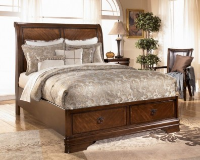 Ashley Hamlyn B527-57-64-98. Кровать Queen Size Ashley Hamlyn.