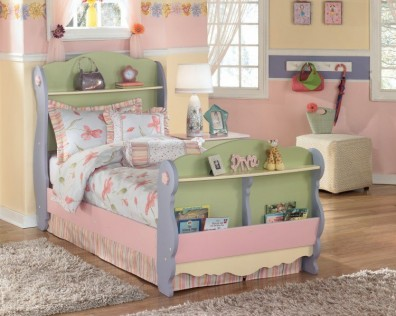 Ashley Doll House B140-63-62-82. Кровать Twin Size Ashley Doll House.